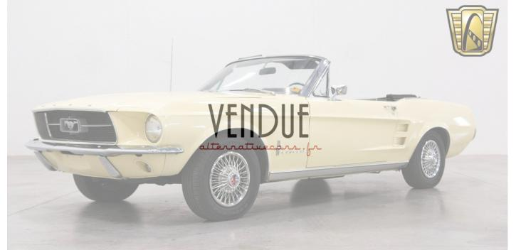 Ford Mustang cabriolet 1967 code c