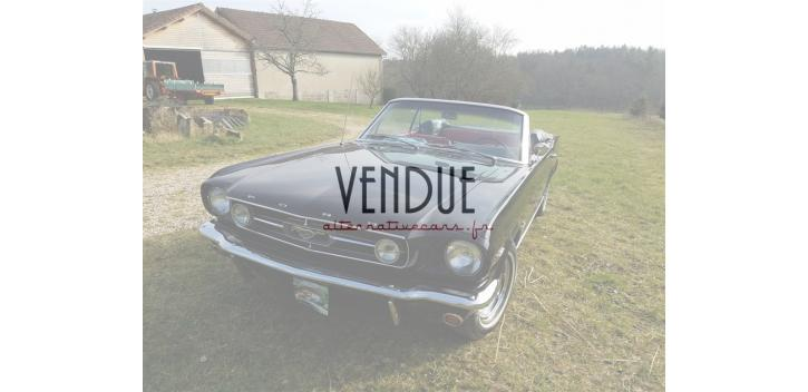 ford mustang convertible boite 4 rapports