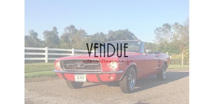 ford mustang convertible 1968 v8 code c boite automatique