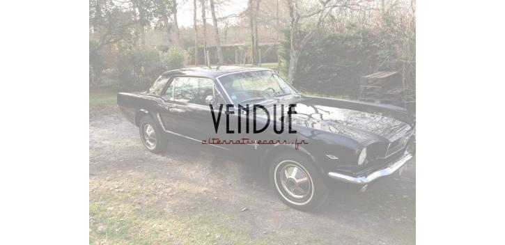 ford mustang coupé 1965 code c boite auto