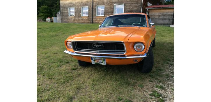 ford mustang fastback 1968 code c boite manuelle