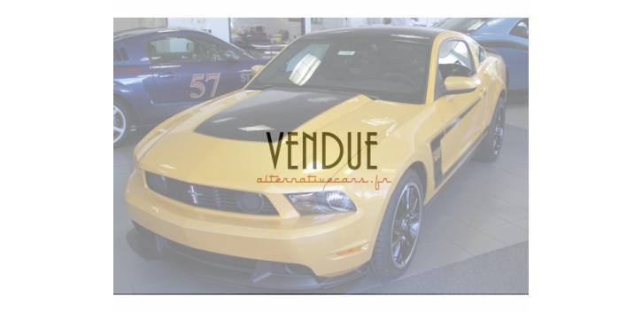 Ford Mustang Boss 302 2012 52 500 € TTC