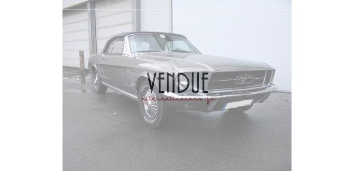 Ford Mustang Convertible 1967 6 cylindres 200ci