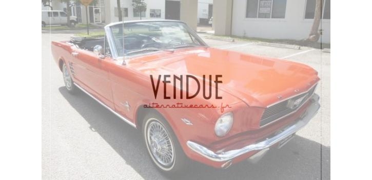 ford mustang convertible 1966 v8 289 code c