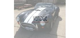 ac cobra 427 era bleue bandes blanches big block