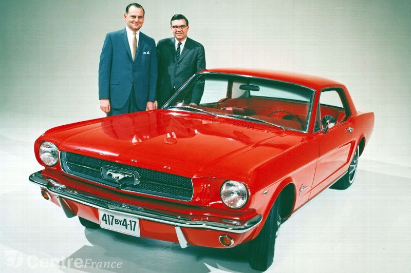 1964 Half Ford Mustang 289 Lee Iacocca Donald Frey